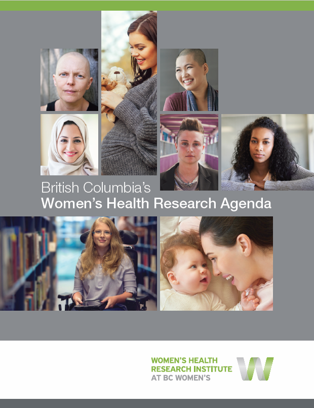 cover of the women's health research agenda