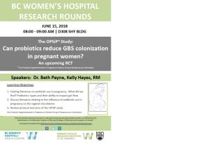 Research Rounds June 15th, 2018 informational poster
